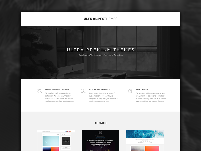 UltraLinx Themes by Oliur on Dribbble