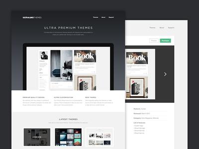 Theme Site Redesign