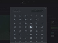Icon modal pixels