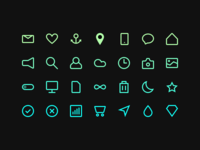 Icon Set - Free Download - Sketch