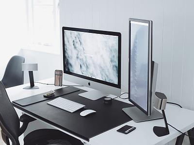 Winter Workspace 2015/2016 ultralinx minimalistic minimalism white clean desk minimal office workspace