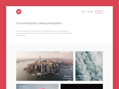 Rangefinder V2 masonry grid photo photography minimalism minimalistic wordpress theme blog minimal portfolio