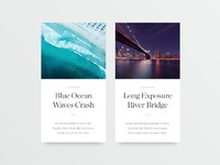 Article cards pixels