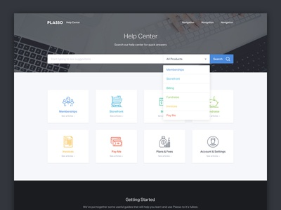 Help Center / Support Homepage