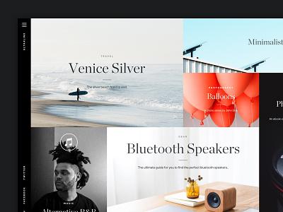 Magazine / Blog Template wordpress photography portfolio grid blog magazine