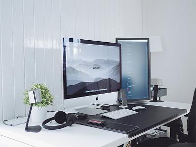 Summer Workspace 2016 code mac imac setup office minimal workspace