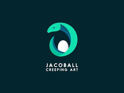 Jacoball Breeder Logo design illustration icon illustrator vector graphic design branding breed snake logo