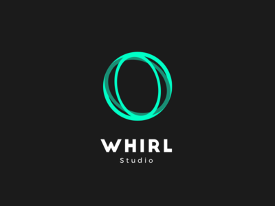 Whirl Studio mark logo ios illustration identity idea icon good design brand app