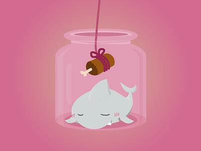 Babyshark cute animal illustrator shark illustration