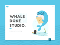 Whaledone Studio Website !