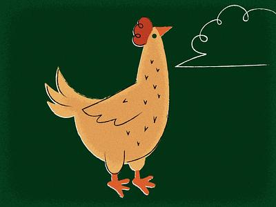 Farm Chicken vector farm chicken illustration