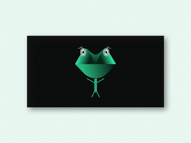 FrogMan artwork design