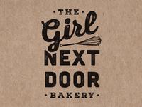 Girl Next Door with Whisk
