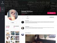 Daily UI Challenge #006 - Profile