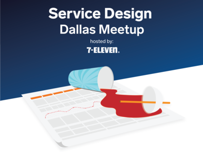 Flyer for Service Design Meetup