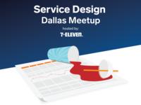 Flyer for Service Design Meetup