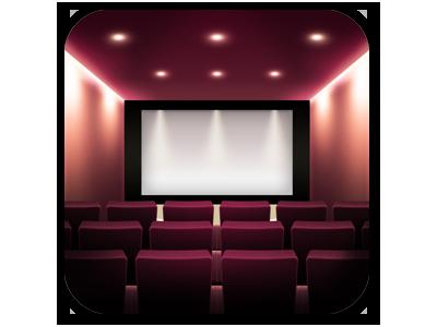 Cinema App Icon iphone cinema