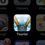 Tourist tourist iphone