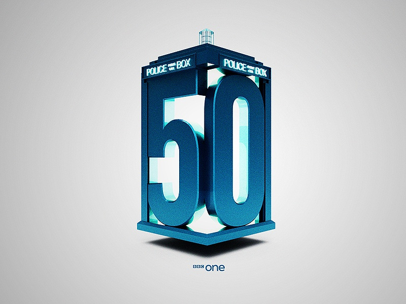 The Doctor's 50th doctor who bbc one cinema4d