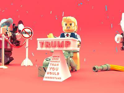 Lego Trump