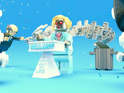 Lego Hillary