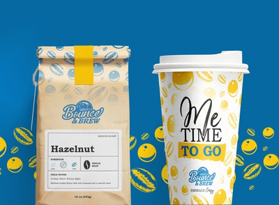 Bounce and Brew Branding
