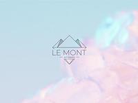 'Le Mont Art Jewelry' logo concept design