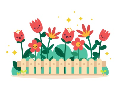 Illustration - Flower freepik cute flower