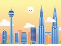 Illustration - KL City