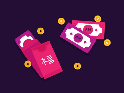 Icon - Angpao shilling angpao money e-money digital money cash