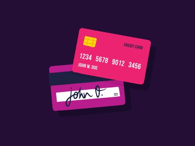 Icon - Credit Card  money debit card credit card cash card bank