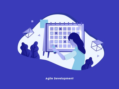 Agile Development illustration agile agile development
