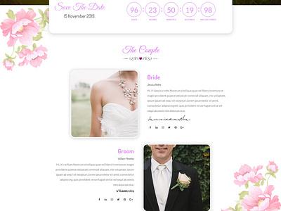 Lavender - Wedding Event, Planner & Coming Soon HTML Template bride  groom bride timecounter wedding wedding event couple
