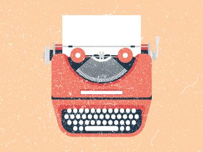 Typewriter Icon print article typewriter icon dust flat