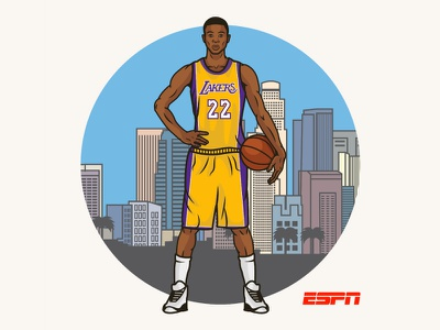 Andrew Wiggins Lottery Draft Illustration nba illustration basketball lottery draft andrew wiggins espn