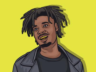 Danny Brown  hip hop danny brown illustration
