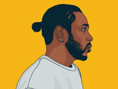 Kendrick Lamar kendrick lamar portrait illustration