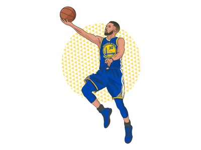 Stephen Curry - Instagram Feature stephen curry instagram basketball nba vector portait
