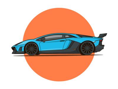 Lamborghini Murciélago murciélago vector illustration car lamborghini