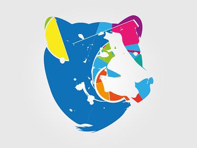 Bear vector bear spots illustration
