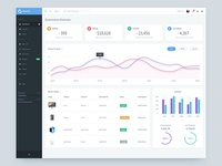 Ecommerce Overview - Dashboard