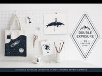 Double Exposure Logos