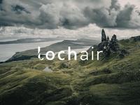 Lochair Branding