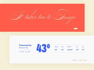 Variable fonts. Website variable fonts layout design website ui minimal typography