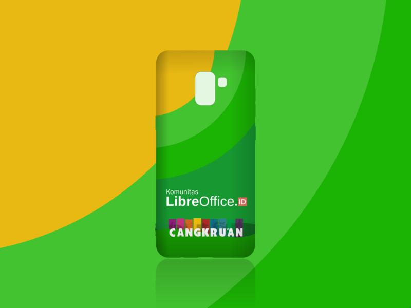 Mockup - Phone Softcase skins mockup design klas phone softcase mockup template tellow green mockup gimpscape inkscape