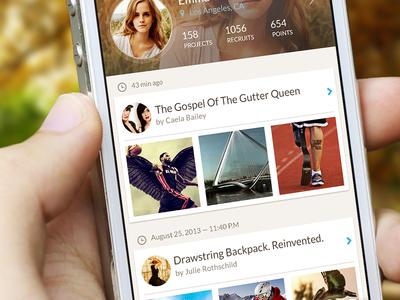 Social Network (app profile)