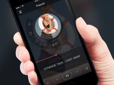Music player app @2x