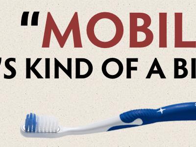Slides powerpoint slide mobile toothbrush fridge responsive design