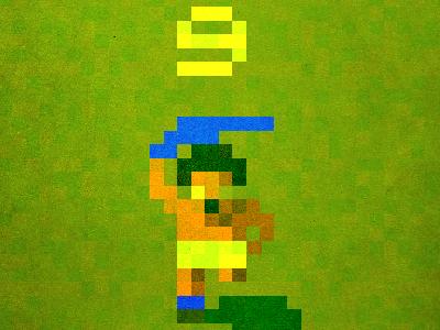 'Big Dunc' pixelegends pixel football everton efc 1995