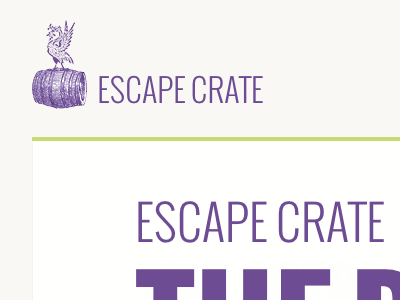 So I've flicked the switch new redesigned escapecrate